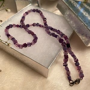 Jewelry - Amethyst Beads Strand Necklace